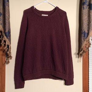 Mossimo XL Maroon Sweater